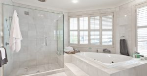Open windows to help circulate air in your bathroom.