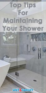 Keep your shower sparkling clean year round with these easy tips!