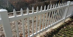 Doug's fence is now clean and white after using Wet & Forget!
