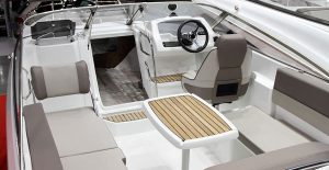 Apply Wet & Forget on your boat seats and carpeting.