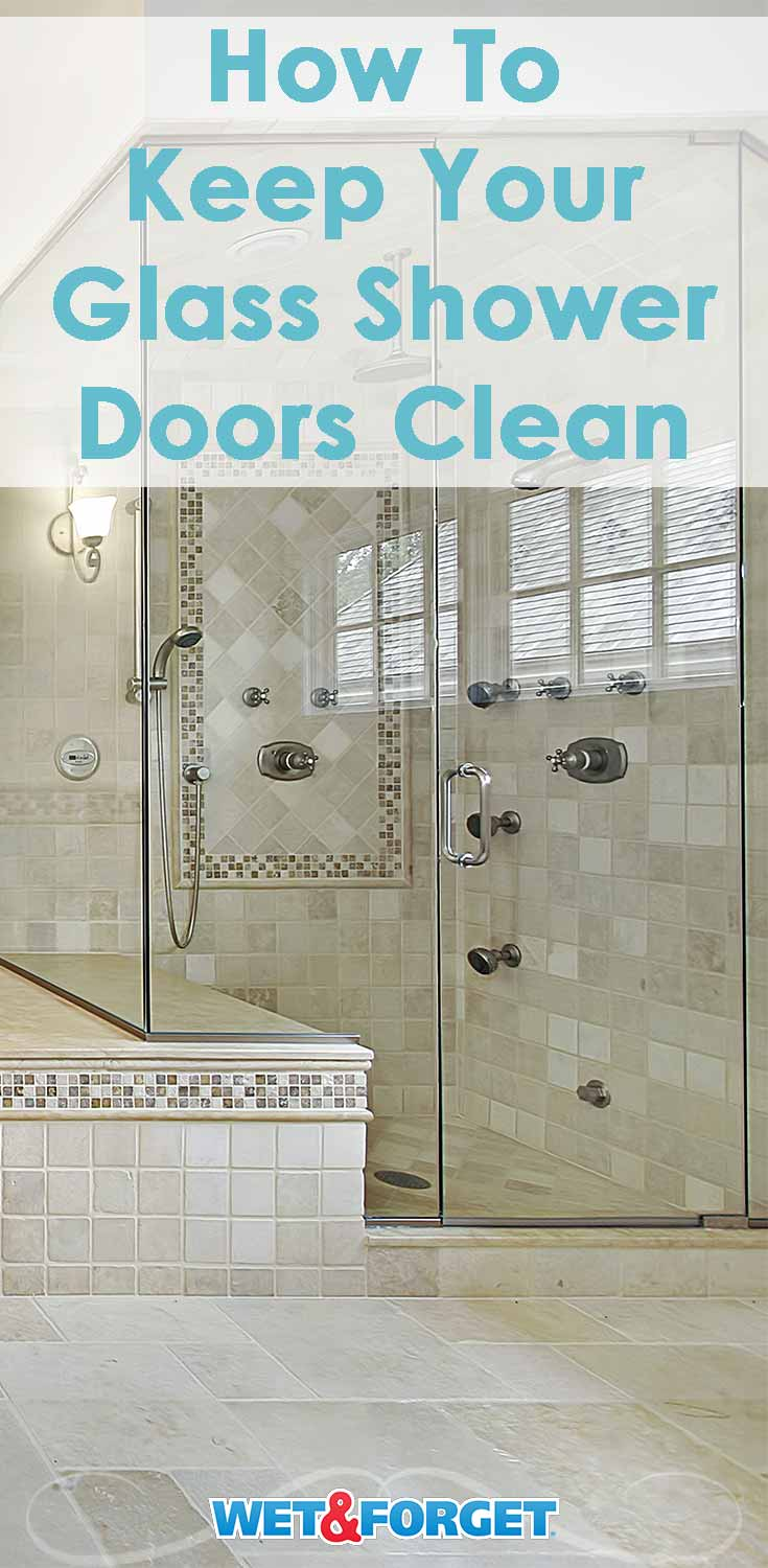 All About Glass Shower Doors Keeping Them Clean Wet