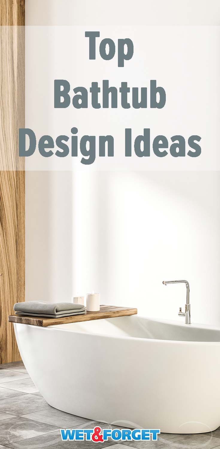 Thinking of changing up your bathroom? Check out the top bathtub design ideas and how to keep your tub clean!