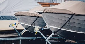 You can use Wet & Forget on boat sails, covers, and other marine fabrics