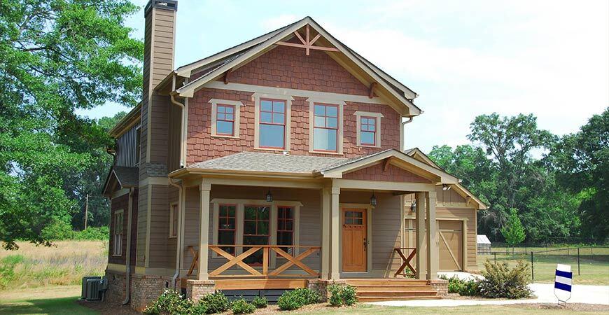 farmhouse front porch style
