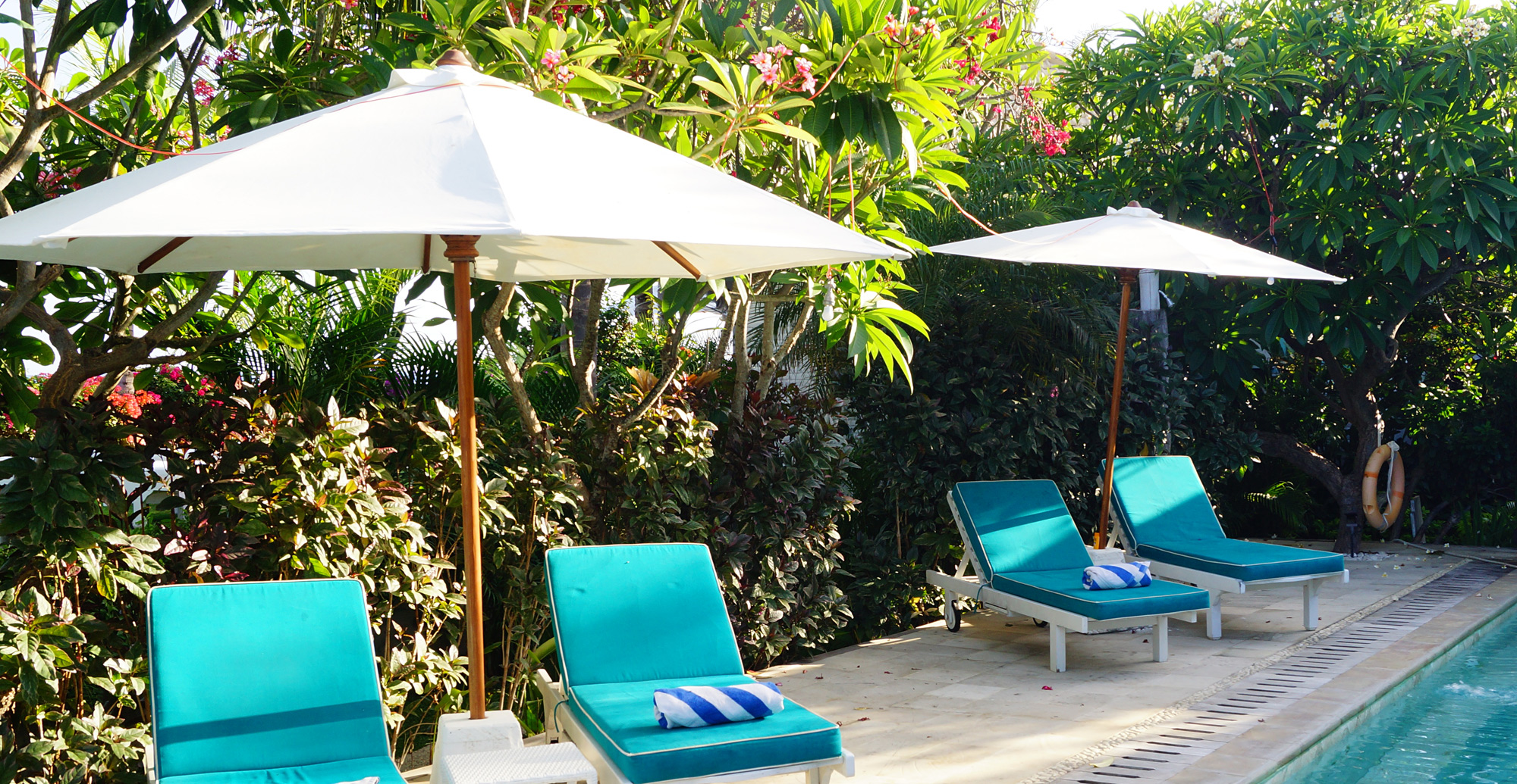 Clean patio umbrellas and awnings with Wet & Forget Outdoor