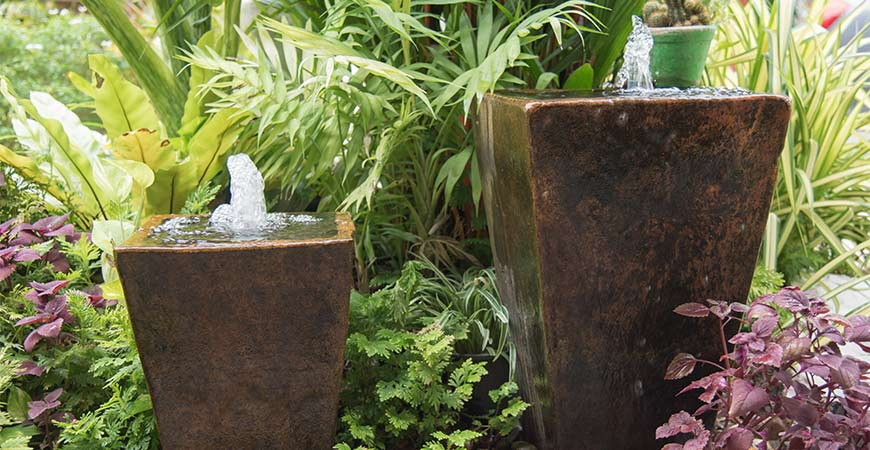 Clean your water feature with Wet & Forget!