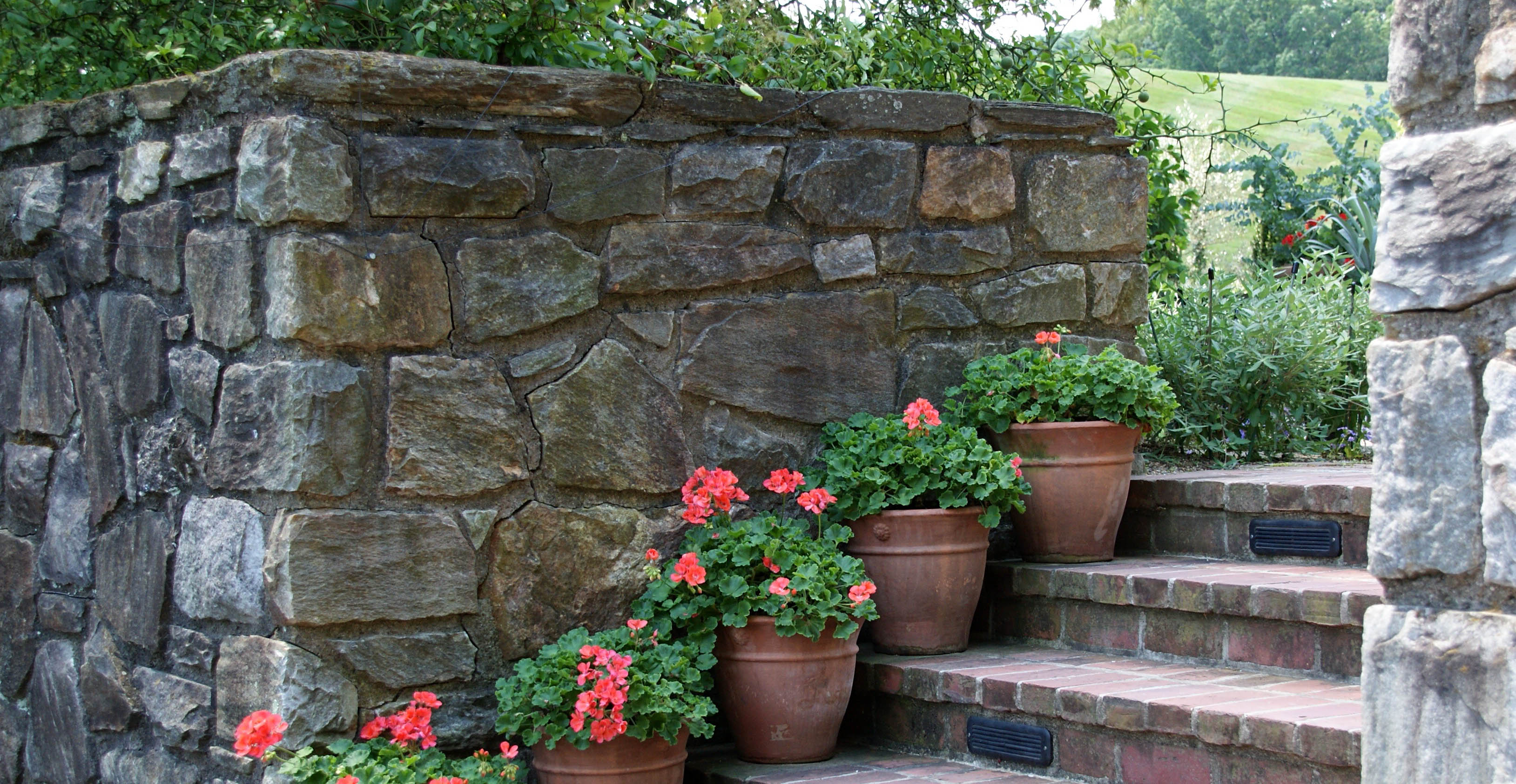 how to clean outdoor stone with Wet & Forget