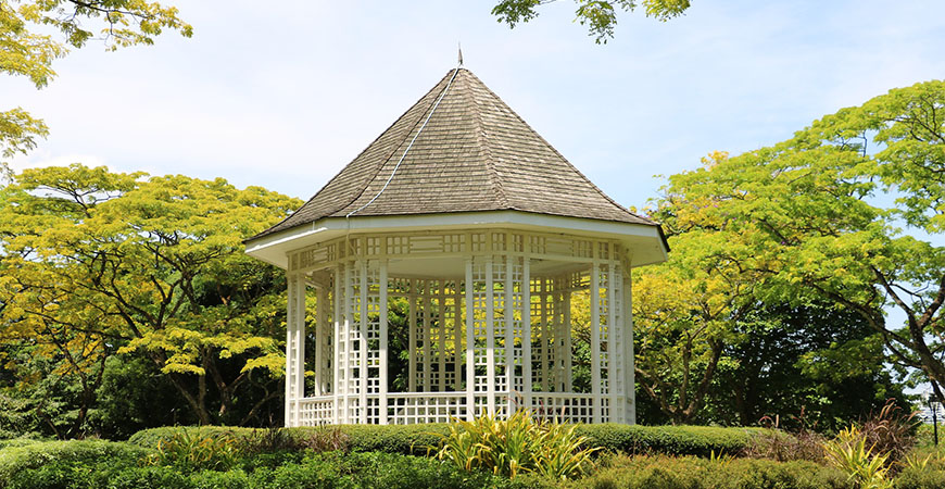 how to clean a wooden gazebo