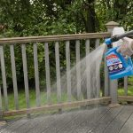 Finish up your fall cleaning checklist by applying Wet & Forget to your deck.