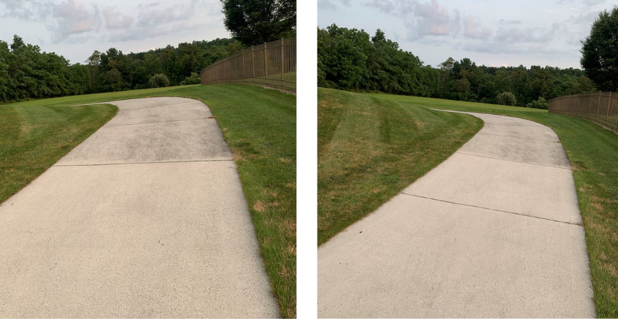 Transform sidewalks and driveways with Wet & Forget Outdoor cleaner!