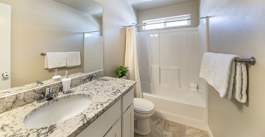 Clean fiberglass showers with Wet & Forget!