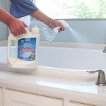 Clean your tub without scrubbing.