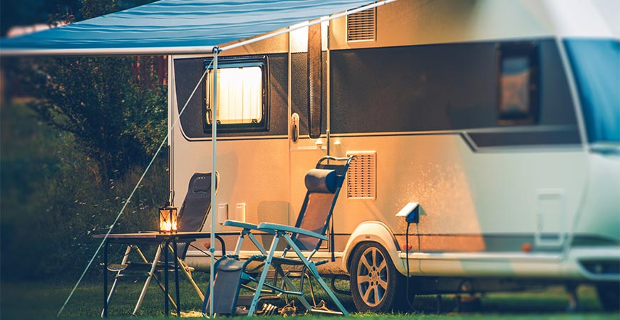 Clean your camper or RV with Wet & Forget.