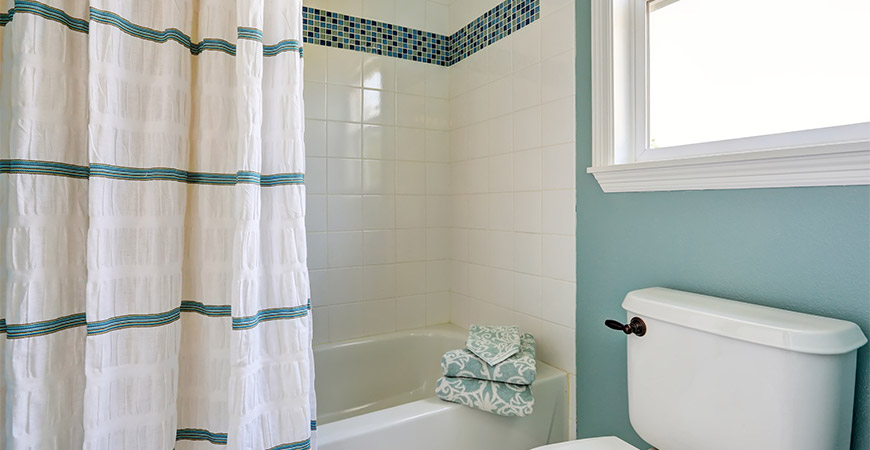 Easily clean your tile shower