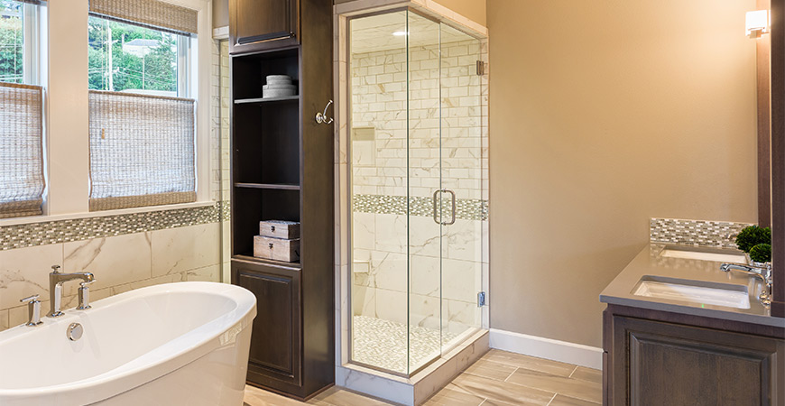 Finish your honey do list with Wet & Forget Shower.