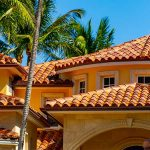 Wet & Forget cleans a tile roof.