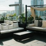 Outdoor Patio Furniture with Canopy
