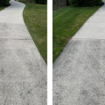 Use Wet & Forget Outdoor for a sidewalk and driveway cleaner!