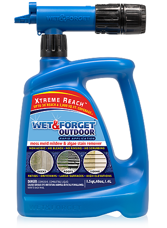 Wet Amp Forget No Rinse Outdoor Cleaners Product Selector